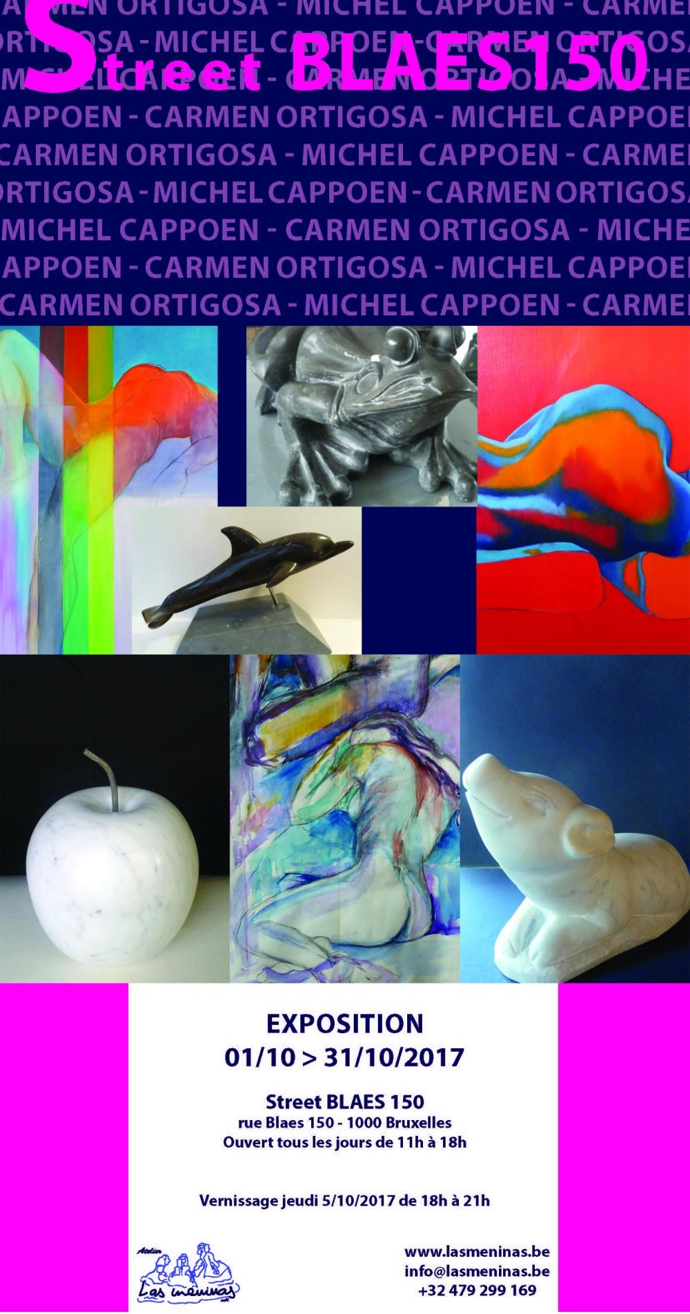 Exposition Carmen Ortigosa & Michel Cappoen